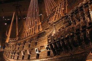 Siêu tàu chiến Vasa mới xuất phát 20 phút đã chìm