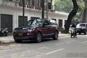 Xe Range Rover SV hơn 40 tỷ biển 'tứ quý' Lào trên phố Việt