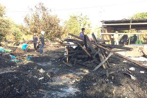 Hỏa hoạn thiêu rụi 1 nhà dân tại Đắk Lắk