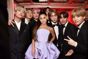 Ariana Grande: 'Tôi đã xem BTS tổng duyệt, đó là một trong những điều tuyệt vời nhất từng thấy'