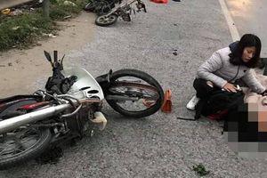 Xe máy va chạm xe đạp điện trên QL5, người đàn ông tử vong tại chỗ