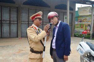 5 ngày nghỉ Tết, CSGT Nghệ An xử phạt 49 'ma men'