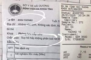 Hải Dương cách ly 18 y, bác sĩ tiếp xúc du khách Trung Quốc nghi nhiễm virus corona