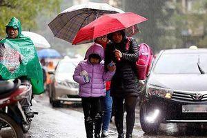 Hà Nội tiếp tục mưa, rét trong 10 ngày tới