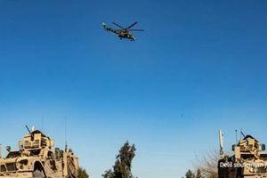 Mỹ bỏ các trạm kiểm soát vì trực thăng Nga uy hiếp