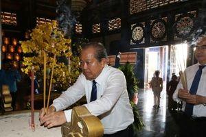 Phó Thủ tướng Trương Hòa Bình dự họp mặt truyền thống Cách mạng Sài Gòn - Chợ Lớn - Gia Định - TPHCM