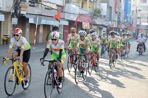 Đầu năm mới xe đạp An Giang xuất quân