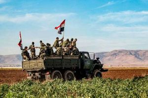 SOHR: Quân đội Syria tràn vào thị trấn chủ chốt tại Idlib