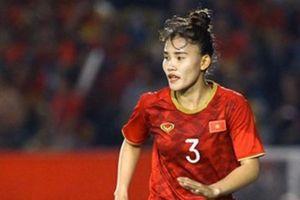 ĐT nữ Việt Nam mất trung vệ hay ở vòng loại Olympic 2020