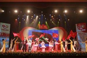 Hào hùng giai điệu nghệ thuật trong Chương trình 'Với Đảng vẹn tròn tin yêu'