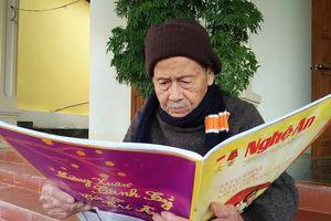 Ngời sáng tinh thần cách mạng của bậc lão thành 105 tuổi đời, 81 tuổi Đảng