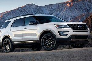 Ford Explorer 2021 chơi lớn với gói ngoại thất thể thao XLT