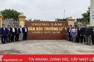 Can Lộc ra mắt Trung tâm Bảo tồn di sản văn hóa Làng Trường Lưu