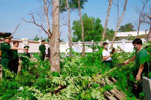 Kiểm tra công tác phòng chống dịch nCoV tại Trạm Biên phòng cửa khẩu Hiệp Phước
