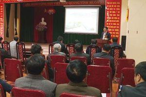 Đông Anh lấy ý kiến người dân về dự án khu đô thị gần đường Nhật Tân – Nội Bài