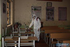 Huyện giáp biên giới Trung Quốc nỗ lực chống dịch bảo vệ sức khỏe học sinh