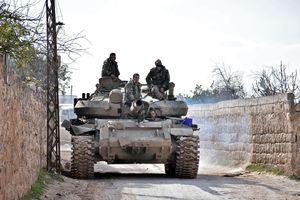 Các lực lượng chính phủ Syria giành lợi thế ở khu vực Tây Bắc
