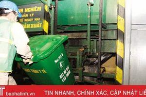 Hà Tĩnh xử lý hơn 10 nghìn tấn chất thải y tế nguy hại mỗi năm