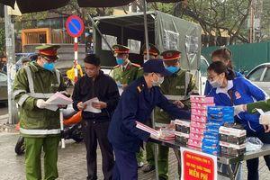 Công an quận Ba Đình đẩy mạnh công tác phòng, chống dịch bệnh do virus Corona gây ra