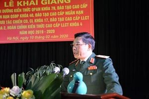 Học viện Quốc phòng khai giảng các lớp đào tạo