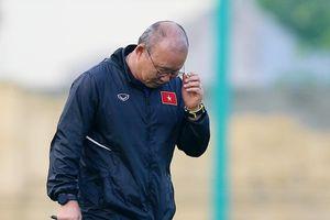 HLV Park Hang-seo bất ngờ bị truất quyền chỉ đạo 4 trận