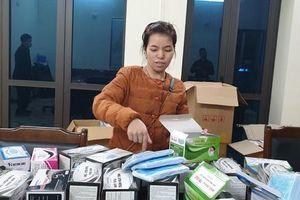Quyết liệt chống buôn lậu khẩu trang y tế, máy đo thân nhiệt