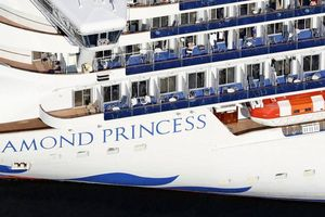 Số ca nhiễm virus corona trên du thuyền Diamond Princess lên tới 174