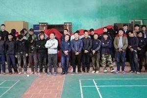 Bắc Giang: Bắt quả tang 41 đối tượng đánh bạc dưới hình thức đá gà