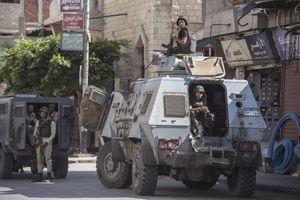 Lực lượng an ninh Ai Cập tiêu diệt 17 phiến quân ở Bắc Sinai
