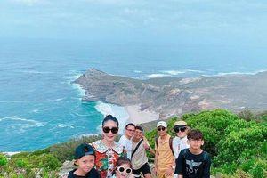 HH Hà Kiều Anh cùng chồng đại gia khiến nhiều người ghen tỵ với chuyến đi xa xỉ tại Nam Phi, Dubai