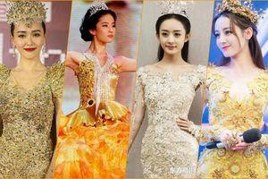 Lưu Diệc Phi chưa tới 20 tuổi đã nhận giải Nữ thần Kim Ưng, 'đánh bại' Đường Yên - Triệu Lệ về số tuổi nhận giải