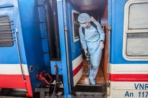 Nhiều đoàn tàu đường sắt chạy rỗng vì đại dịch virus corona chủng mới