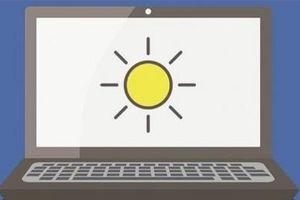 Máy tính bị đánh cắp dữ liệu thông qua độ sáng màn hình