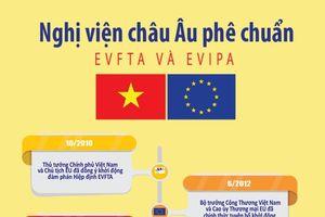 Tiến trình Nghị viện châu Âu phê chuẩn EVFTA và EVIPA