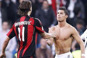 Ibrahimovic và Ronaldo tạo kỷ lục mới ở Italy