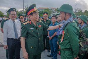 Quân khu 9 hoàn thành giao nhận quân bảo đảm chỉ tiêu, an toàn