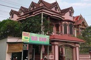 Bí mật bên trong ngôi biệt thự của Cường 'huê' ở thị xã Ba Đồn đã bị công an bóc mẽ