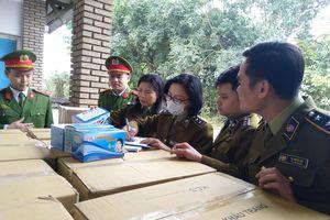 Lào Cai: Tạm giữ trên 170.000 chiếc khẩu trang các loại