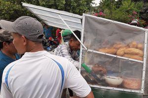 Bánh mì, nước suối 'cháy hàng' quanh khu vực Tuấn 'khỉ' bị tiêu diệt