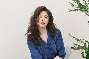 Song Hye Kyo để tóc 'sợi mì', khoe vẻ đẹp tựa nữ thần ngày Valentine