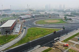 Cận cảnh đường đua F1 tại Mỹ Đình, Hà Nội