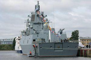 Hé lộ sức mạnh 'siêu tàu' mang 16 tên lửa hành trình Kalibr của Nga