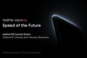 Realme X50 Pro 5G dự kiến ra mắt ngày 24/2