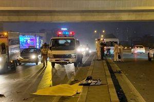 Đi ngược chiều trên đường vành đai 2, tài xế xe máy bị tông chết