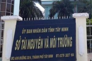 Khởi tố 6 cán bộ Trung tâm Quan trắc Môi trường tỉnh Tây Ninh