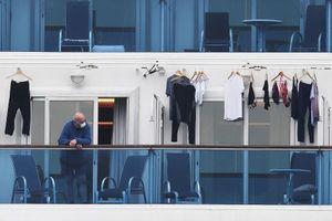 Mỹ không sơ tán 40 người nhiễm virus corona trên tàu Diamond Princess