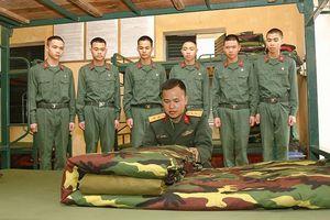 Giúp chiến sĩ mới hòa nhập môi trường quân đội