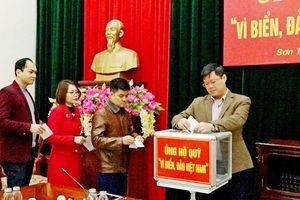 Sơn Tây phát động ủng hộ Quỹ 'Vì biển, đảo Việt Nam'