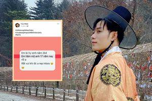 Đi hát 9 năm nhưng có fan tự nhận 17 năm hâm mộ: Phản ứng của Trúc Nhân khiến netizen 'dở khóc dở cười'