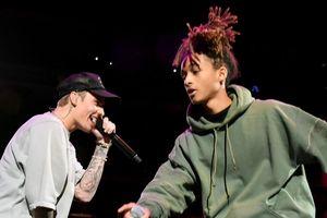 Jaden Smith thể hiện khả năng ca hát bên Justin Bieber